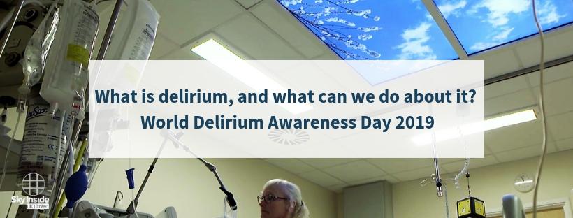 World delirium awareness day 2019 Sky Inside blog header