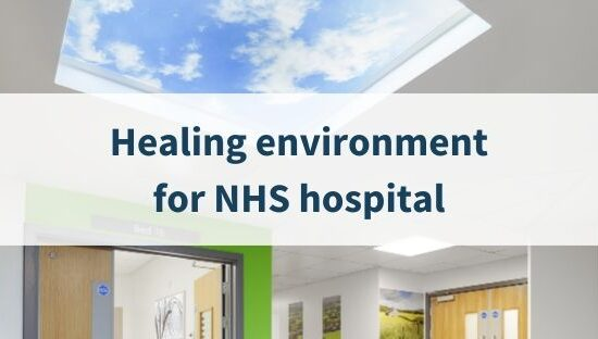 Healing environment for NHS hospital