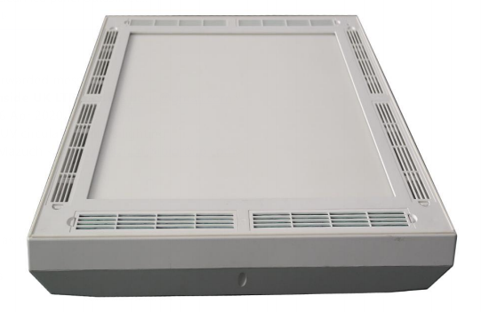 Grey air cleaning disinfection box