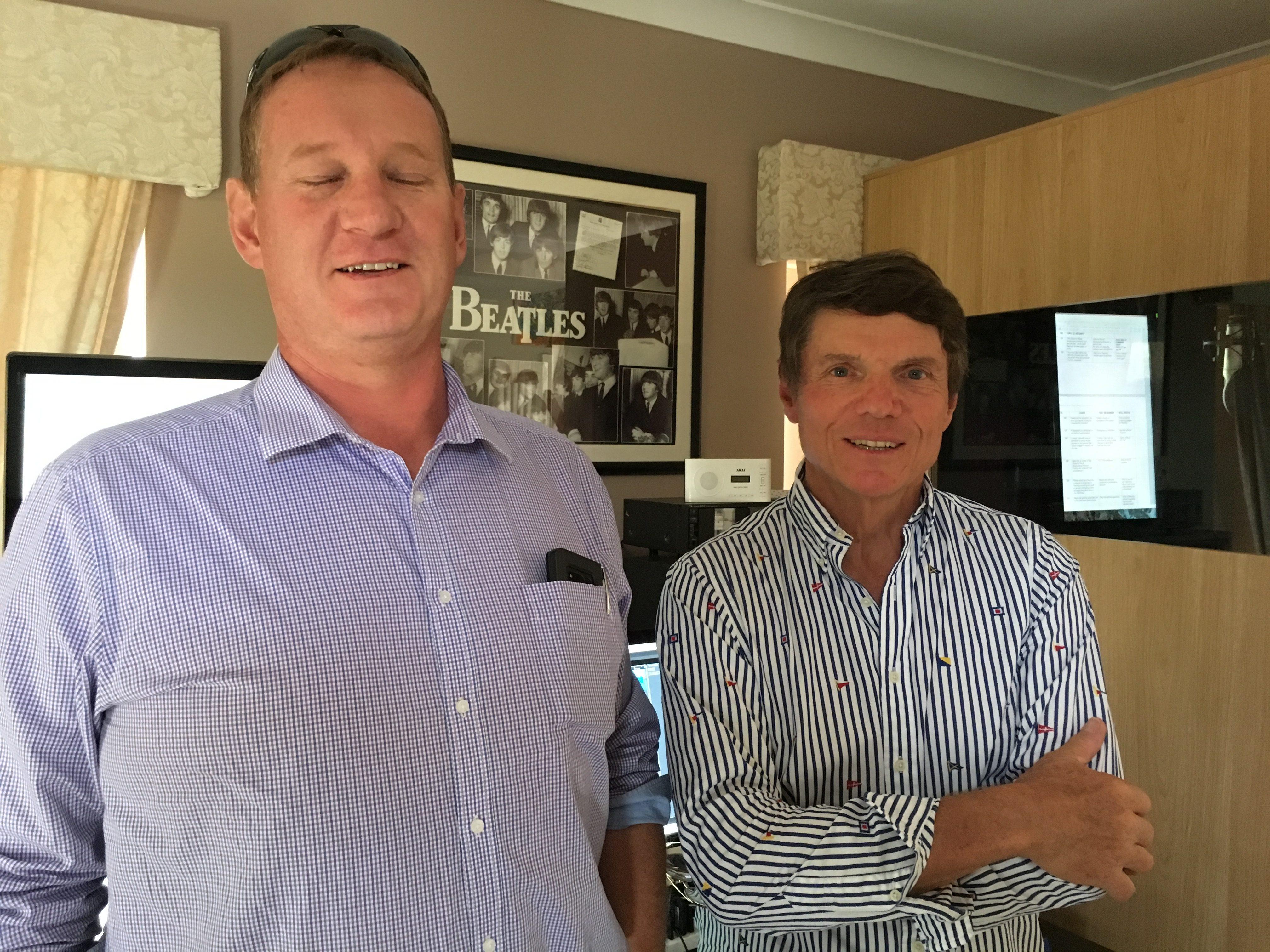Paul Shinks & Steve Whitham