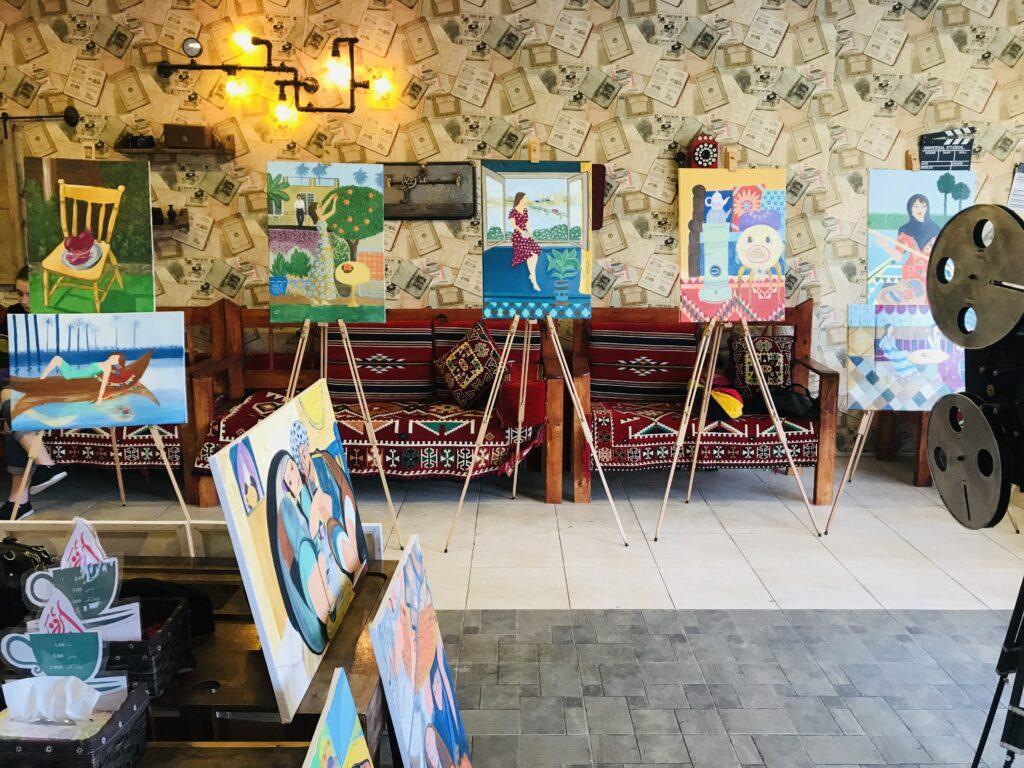 Book Cafe in Iraqi Kurdistan