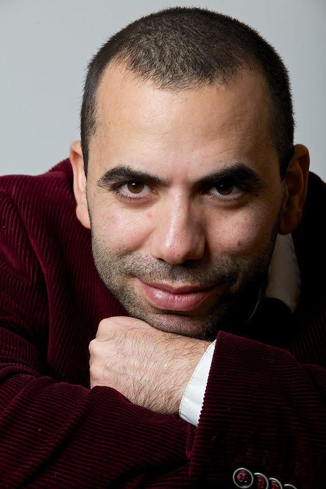 The poet and writer Amir Darwish