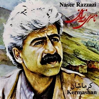 The Kurdish singer Naser Razazi