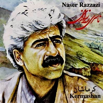 The Kurdish singer Naser Razazi