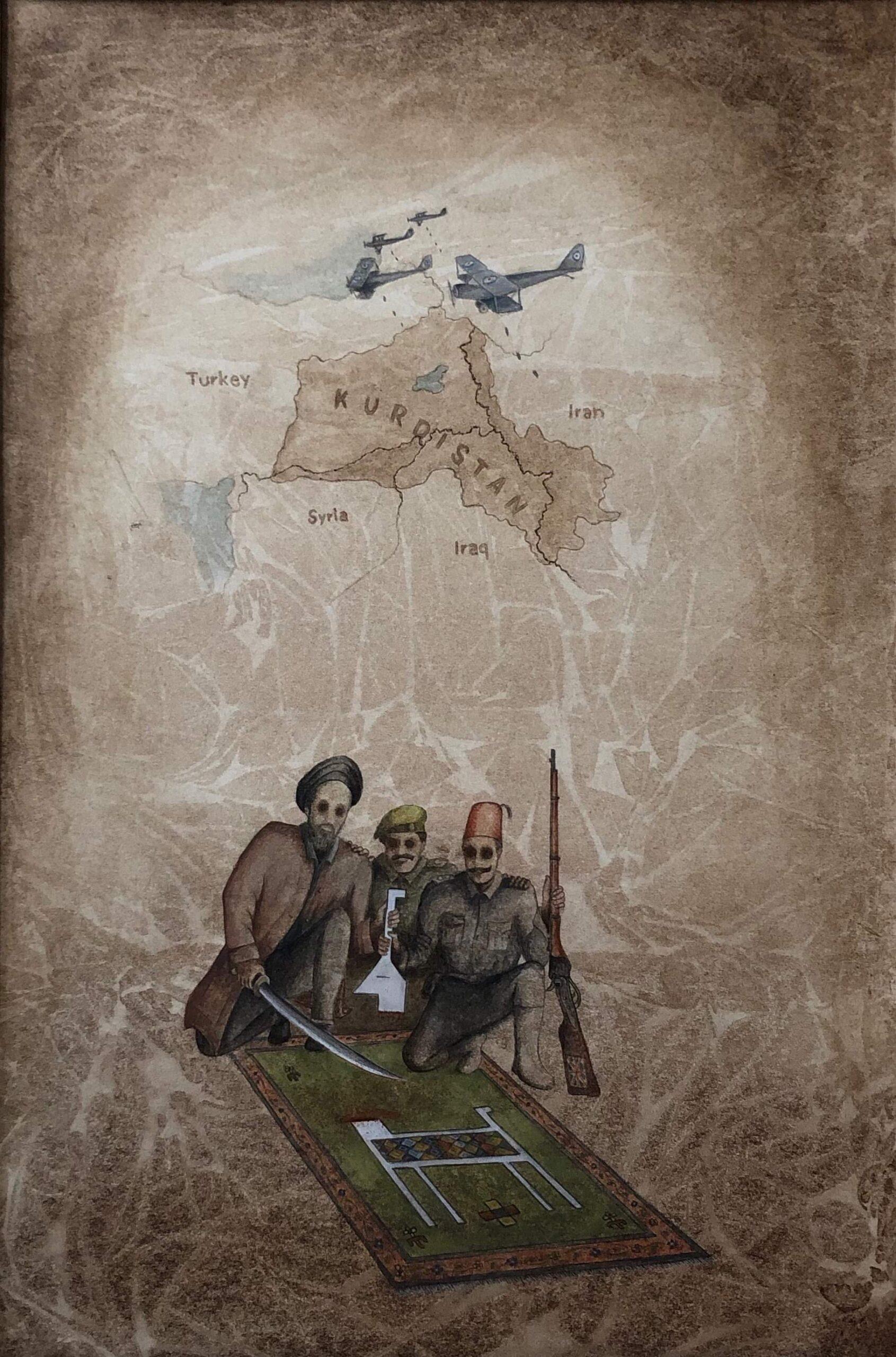 Artist Shorsh Saleh