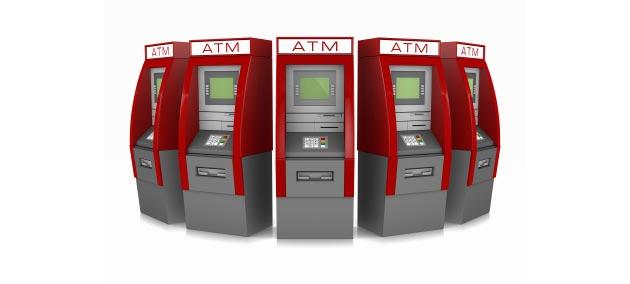 ATM row