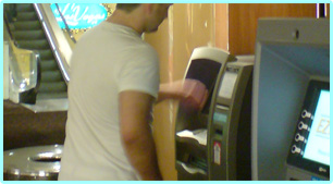 Crown Casino ATM machines - Jonar Nader