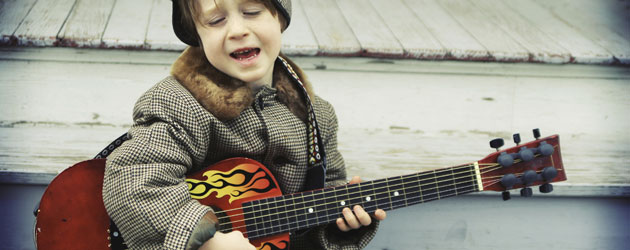 Jonar Nader: Boy on guitar technology in music