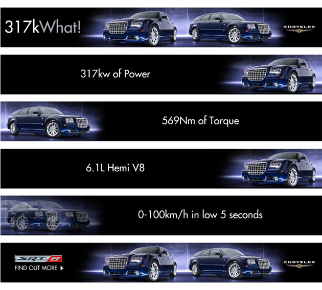 Chrysler ad for 317 kw- Jonar Nader