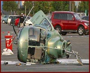 Helicopter crash Dreamworld joy ride