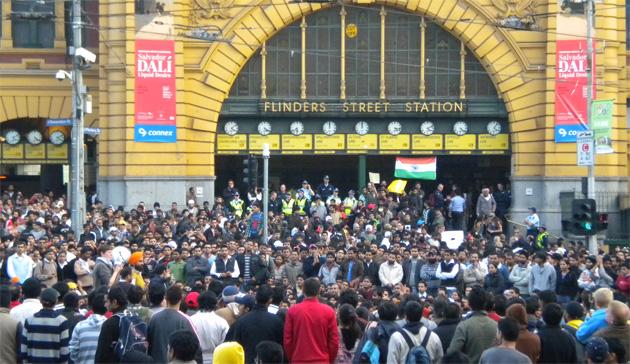 Indian protests in Melbourne- Jonar Nader
