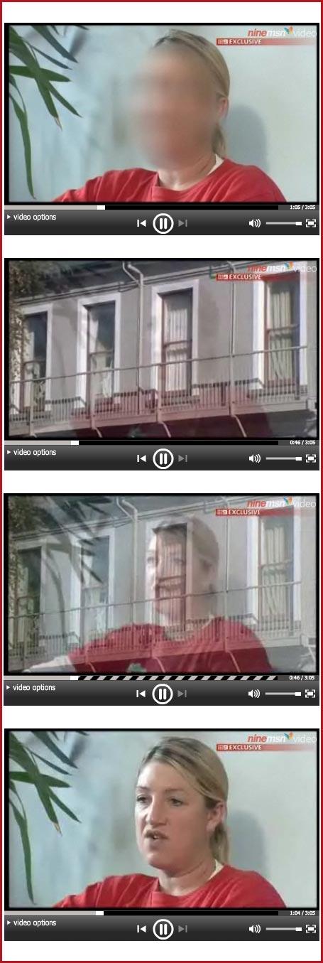 Jonar Nader Blurred face of woman Web revealed
