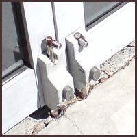 Jonar Nader locks at exit door