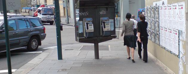 Repositioned public phone still an obstacle 2- Jonar Nader