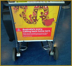Vodafone airport trolley ad- Jonar Nader