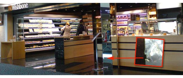 Wishbone sandwich bar Auckland Airport- Jonar Nader