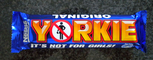 Yorkie Chocolate Not for girls Jonar Nader