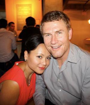 Pauline Nguyen and husband and chef Mark Jensen.