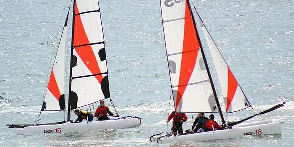 Adult Catamaran & Dinghie Courses