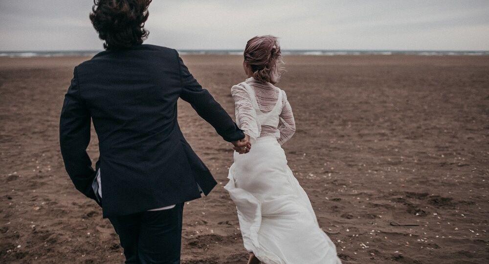 bride_running