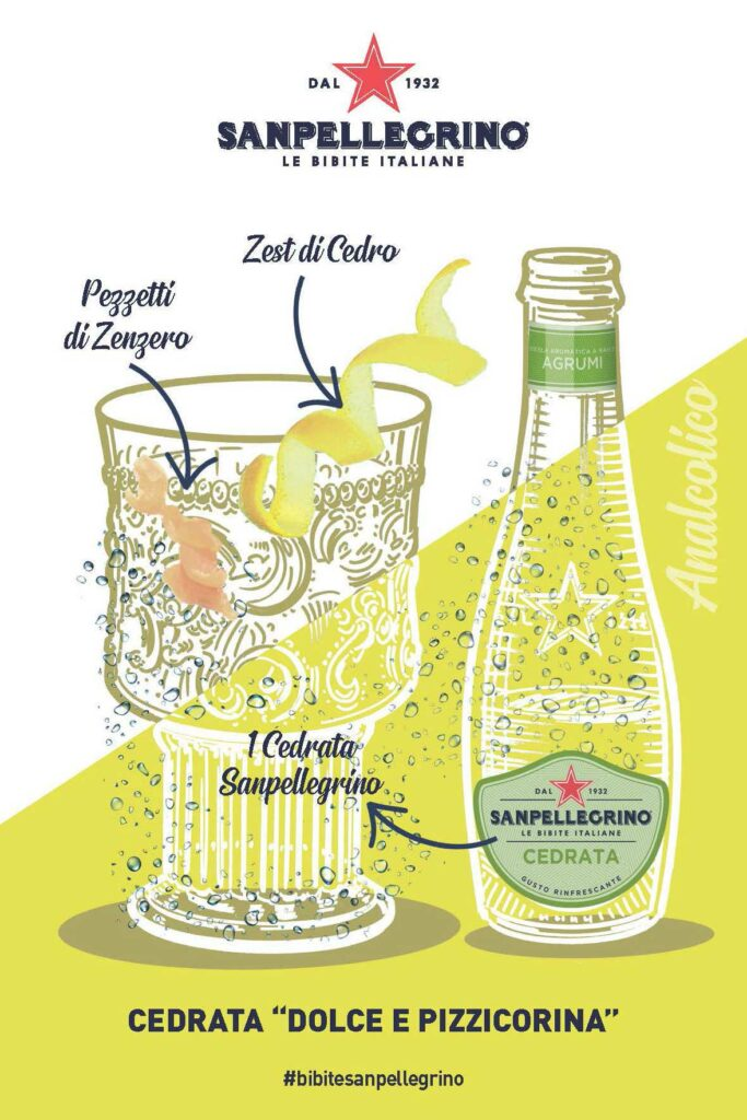 Cocktail-analcolici-San-Pellegrino-Cedrata