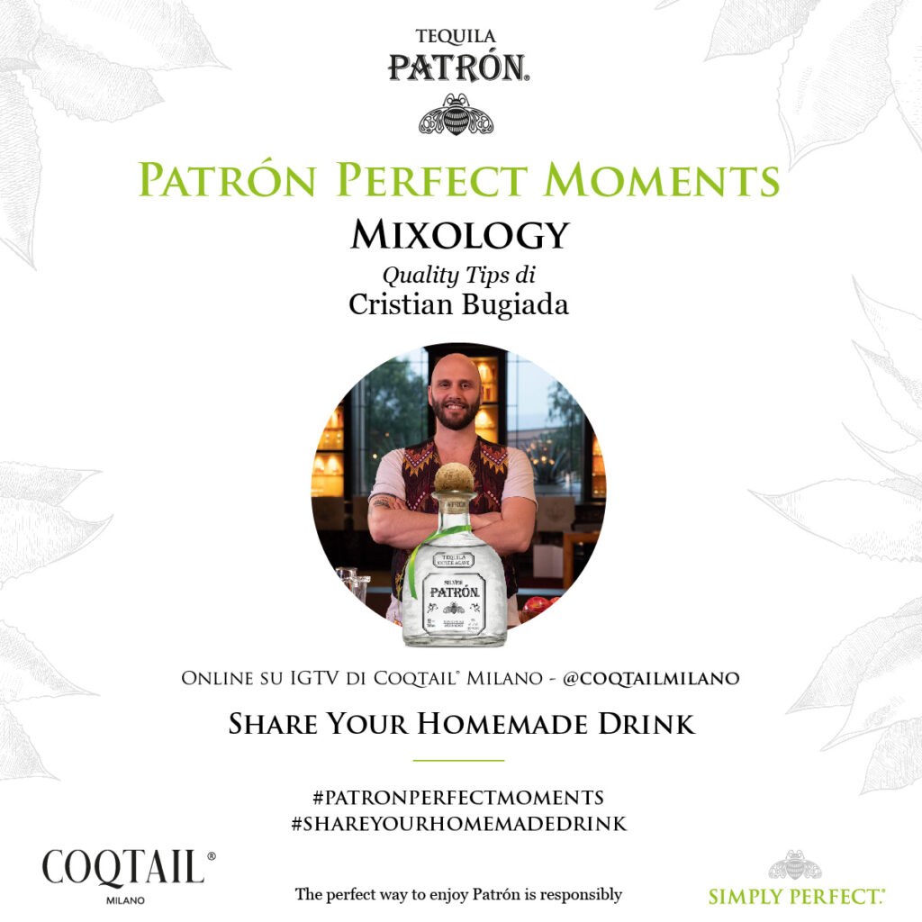 Patron perfect moments quality tips Cristian Bugiada