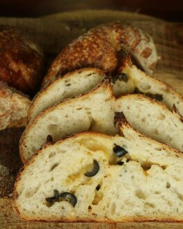 Cheese and Olive Sourdough 400gm