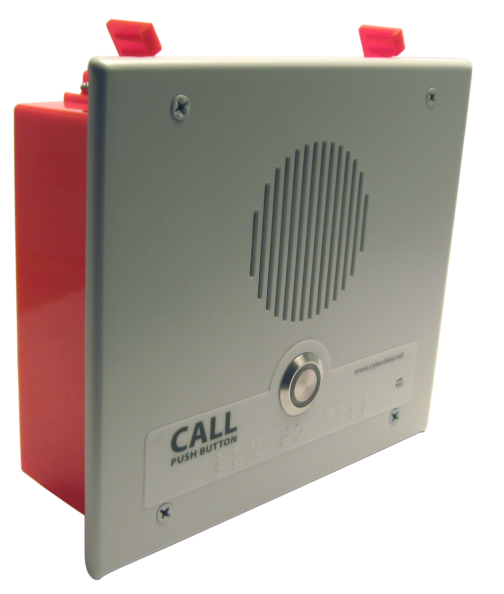 Indoor V3 VoIP, SIP enabled IP Intercom, Call Button – Flush Mount