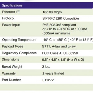 011272 specification