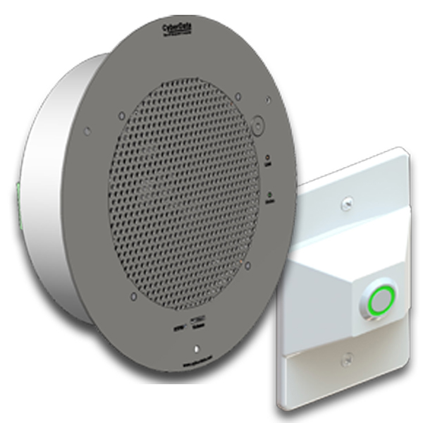 SIP enabled IP Talk-Back Speaker for Monitoring + 2-Way Audio, P2P or VoIP