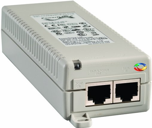 POE switch is used for powering the intercom