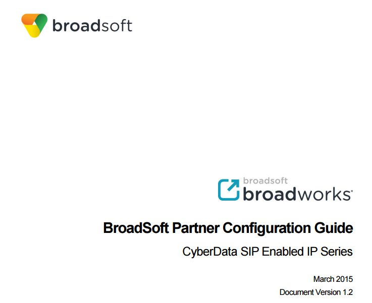 Broadsoft SIP enabled IP Door Phone for the Broadworks SIP Server