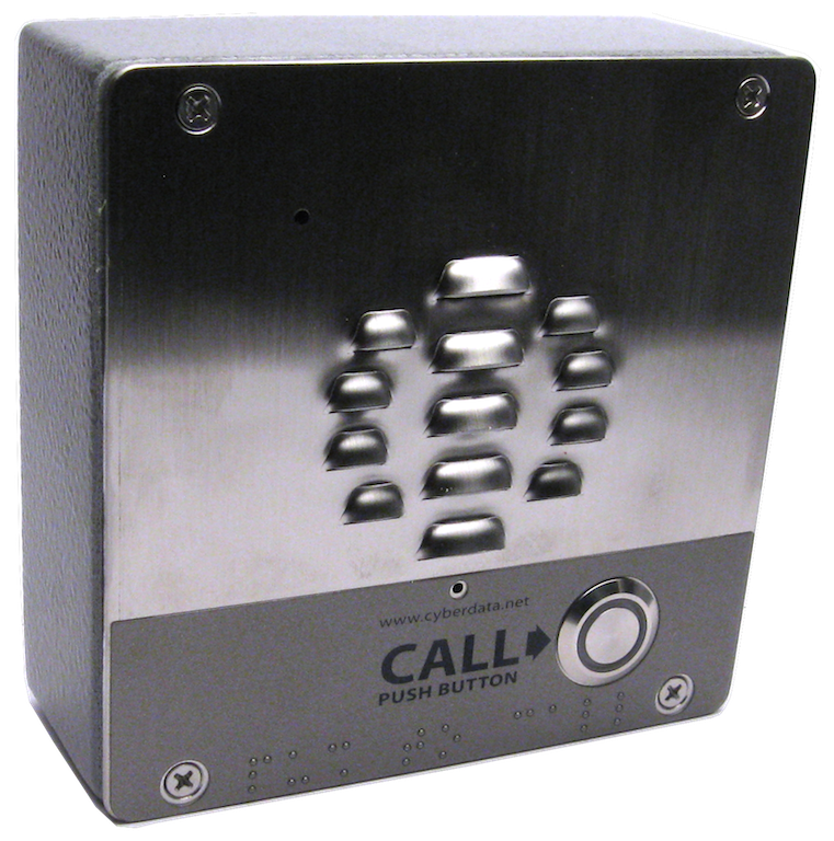 Outdoor, S/Steel, V3 VoIP Door & Barrier Intercom – Hunt Group Ready – PoE, LAN + vLAN