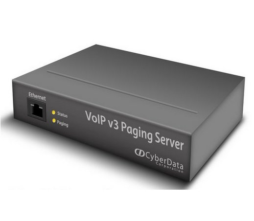 VoIP V3 Paging Server, 99 Zone Paging from a Single SIP Call, Integrate Legacy Equipment