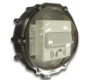 External, Type 4X Rated, Protective Dome Kit for the CyberData IP Strobes