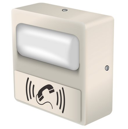 SIP enabled IP Telephone Strobe, Visual Alterting Device, Phone Call & Message Waiting Alert