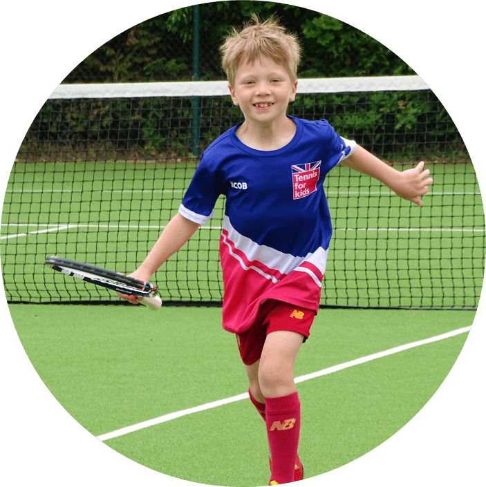 Tennis for Kids Classes at Cheam Tennis Club, Near Sutton, Surrey