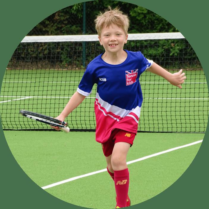 Tennis for Kids Classes at Cheam Tennis Club, Near Sutton, Surrey