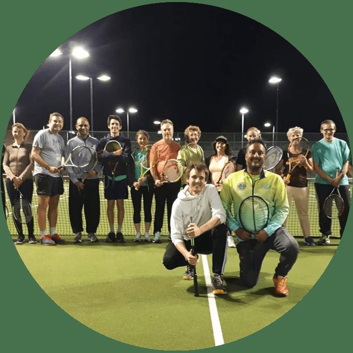Adult Tennis Coaching Groups Cheam, Sutton, Carshalton