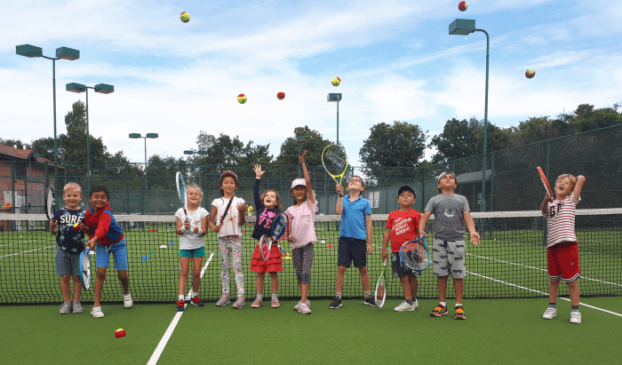 Kids Holiday Club at Cheam LTC in Sutton, Surrey