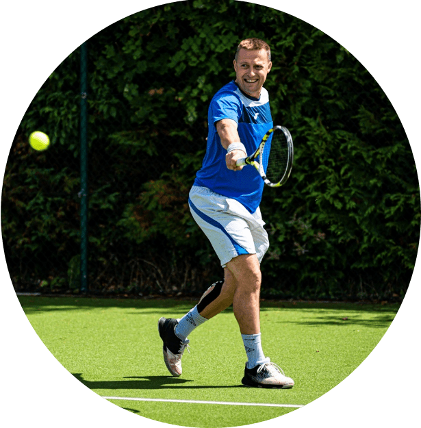 Adult Tennis Coaching Groups Cheam and Sutton