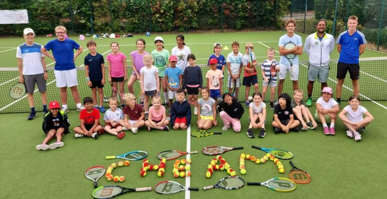 Tennis Holiday Club at Cheam LTC in Sutton, Surrey