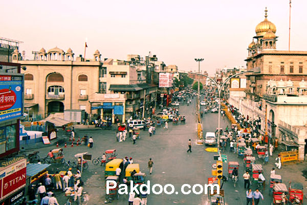 places for shopping, food & historical in oldest market in delhi- chandni chowk