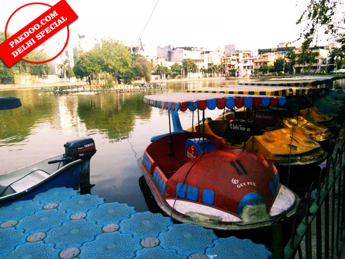 naini lake model town boating revamped by mcd