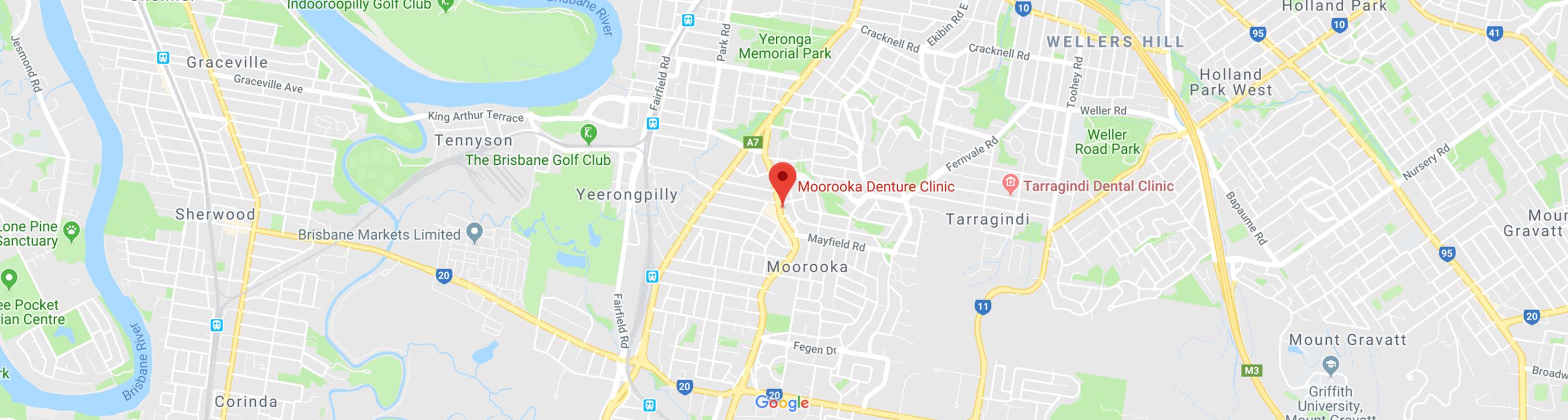 View Moorooka Denture Clinic location