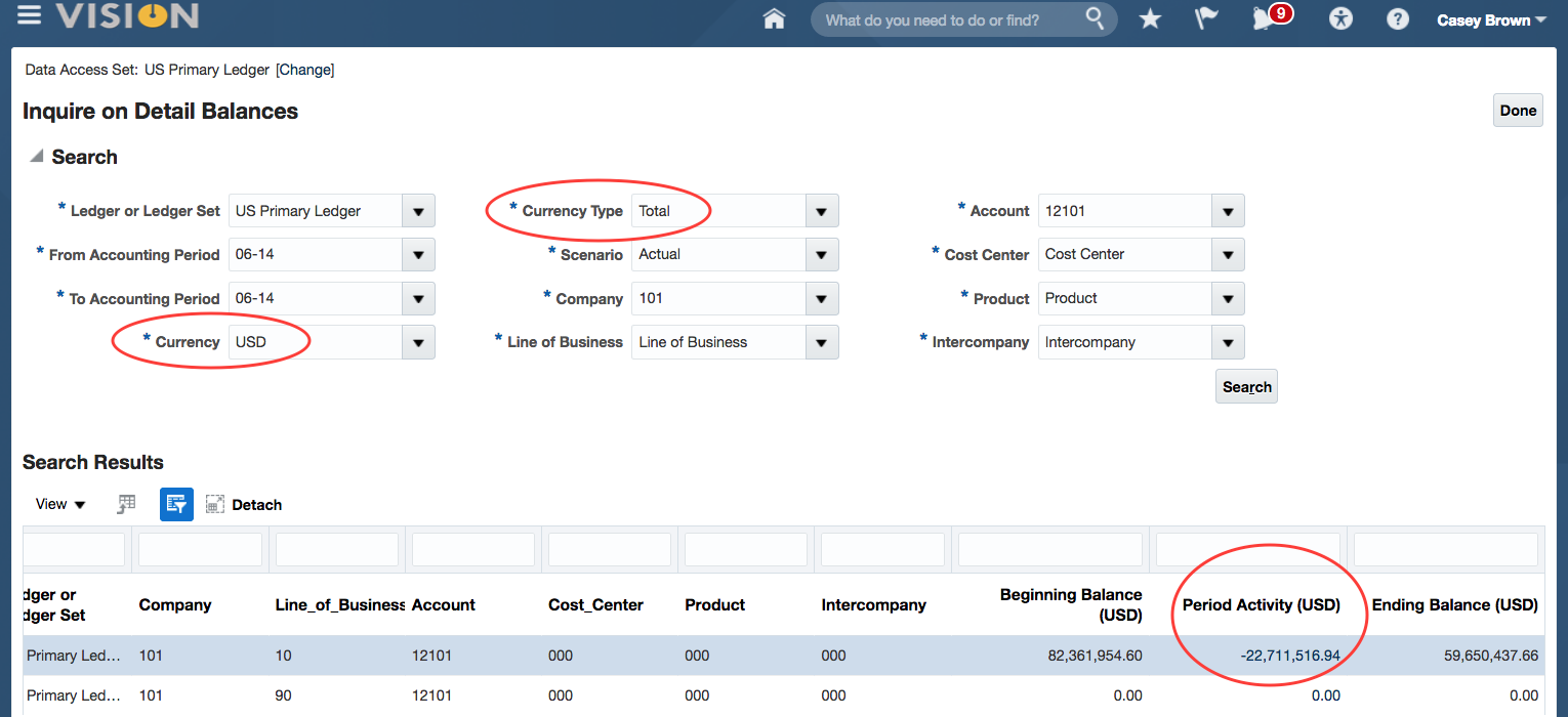 Oracle ERP Cloud Foreign Currency Balances1
