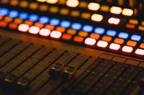 DJ board