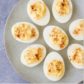 Deviled Eggs, Easter menu blog