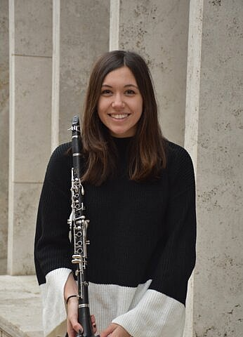 Michelle Hromin, Clarinet & Saxophone teacher at Center Stage Music Center.