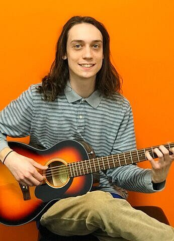 Ryan Keyes, guitar teacher at Center Stage Music Center